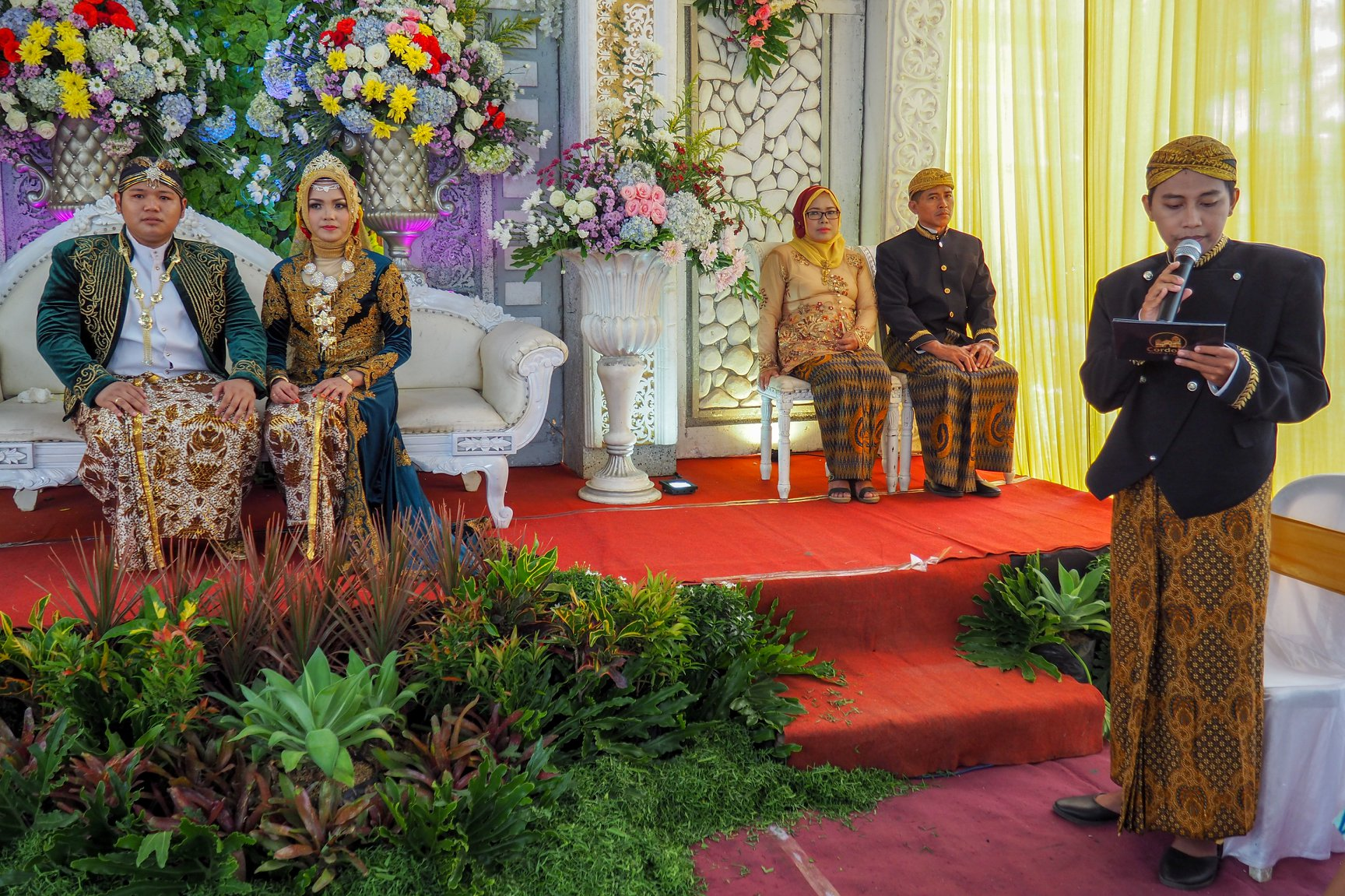 Wedding of Bima and Dhita