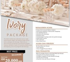 Price List Wedding Organizer Surabaya